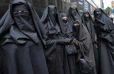 femei musulmane fata acoperita muslim women
