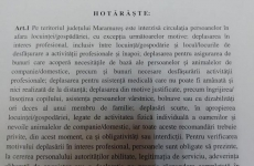 document interdictii Maramures1