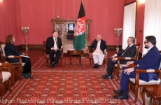Mike Pompeo Ashraf Ghani