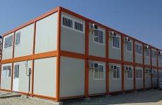 containere modulare, amplasare