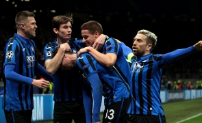 Atalanta formatie fotbal