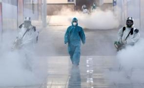 medic coronavirus dezinfectie