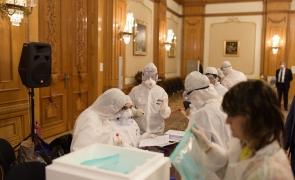teste coronavirus parlament