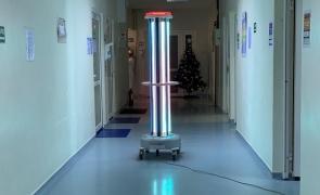 robot dezinfectie