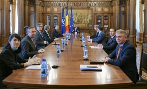 Klaus Iohannis intalnire ministrii cotroceni