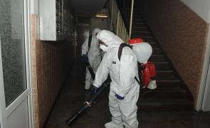 dezinfectie scara bloc