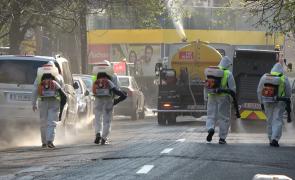 dezinfectie stradala