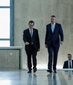 Klaus Iohannis Ludovic Orban Iohannis Orban