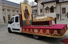 procesiune moaste