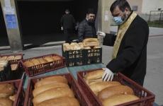 Inquam preoti mască pâine sfințire