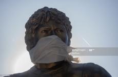 statuie maradona argentina