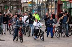 Pietonal biciclisti