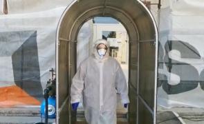 tunel de dezinfectie