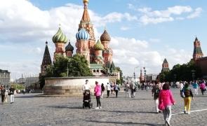 Moscova Piața Roșie