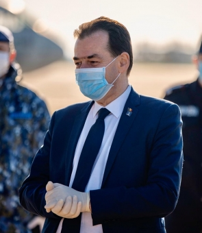 Ludovic Orban masca