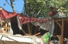 cladire demolata parcul oraselul copiilor
