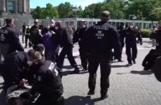 proteste arestari politisti germania
