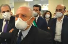 Vincenzo De Luca politicia italian