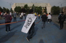 Inquam protest Piața Victoriei stare de alertă