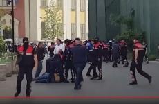 protest Albania Tirana