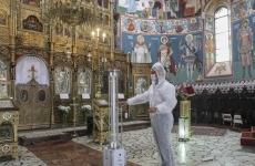 Inquam dezinfectare biserica