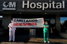 protest medici spania