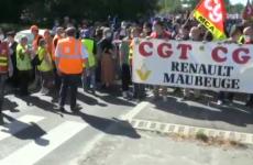 muncitori renault protest franta