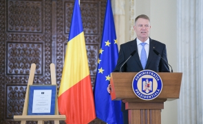 Klaus Iohannis Charlemagne