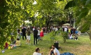 parc oameni