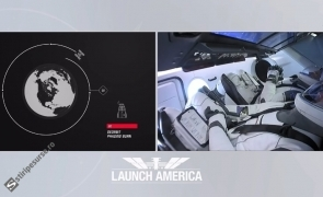 lansare spațiu