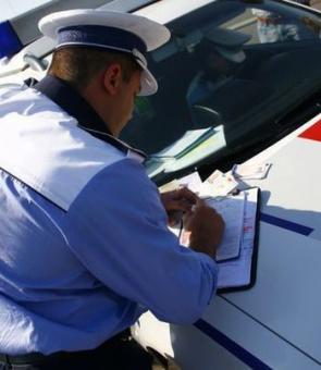 amenda amenzi politist