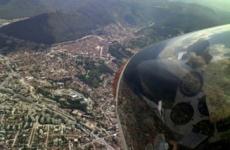 Brasov aerian