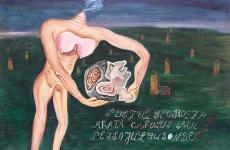 poetul geo bogza pictura
