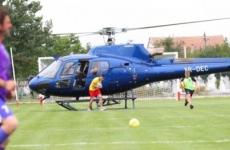 Elicopter minge fotbal