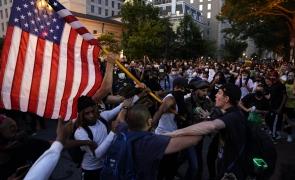 Washington proteste sua