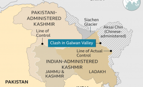 China Pakistan India