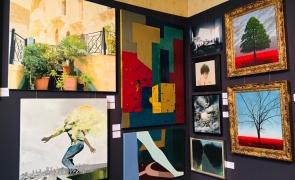 Expoziția Licitației ,,Frumusețea salvează lumea'' tablou