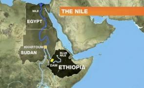 Nil egipt etiopia sudan