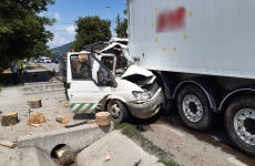 Accident, județul Cluj