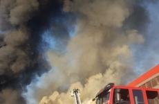 incendiu bragadiru silozuri fum