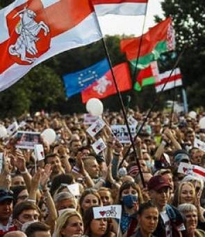 proteste Minsk Belarus