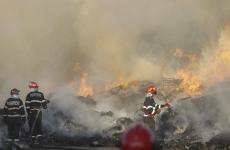 incendiu Chitila groapa gunoi vegetatie