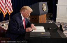 Donald trump semneaza