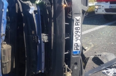 Accident autostradă