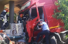 accident tir iasi