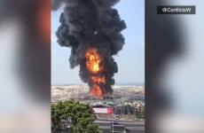 Beirut Liban incendiu