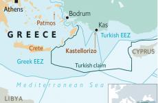 disputa Turcia Grecia mediterana