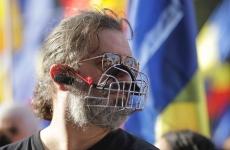 protest mască masca masti măști miting