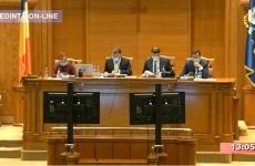 plen reunit camera deputatilor vot parlament