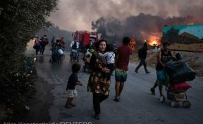 Moria incendii migranti